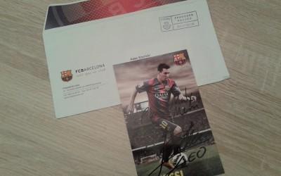 Leo Messi dla Małego Messiego